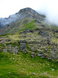 West Ridge on Cairn Peak