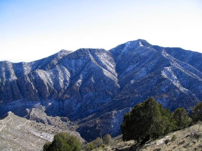 Guadalupe Peak as seen from...