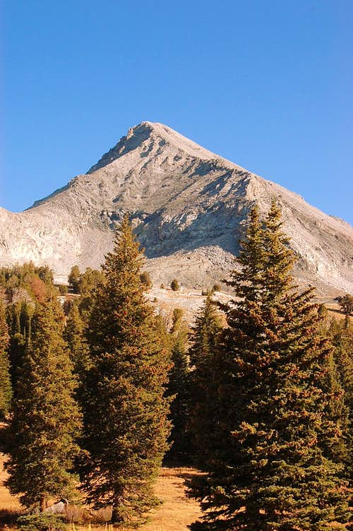 Hyndman Peak from the west