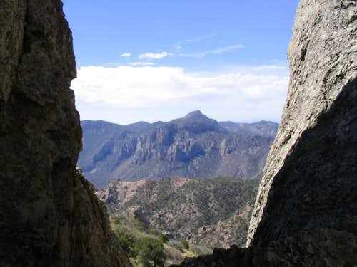 Emory Peak as seen from the...