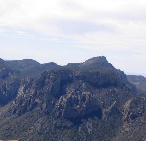 View of Emory Peak from the...