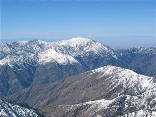 Mt. Baden-Powell as seen from...