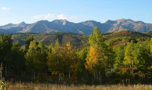 Alpine Ridge from Alpine Loop