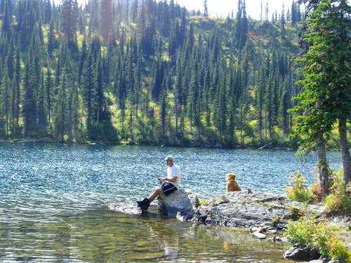 Fishing at Birch Lake