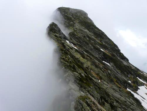 East ridge of Cima della Laurasca