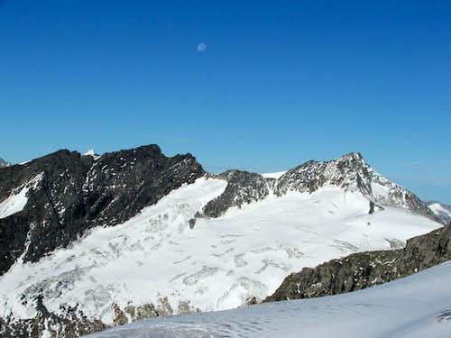 Grosses Happ (3350m) and Grosser Geiger (3360m)