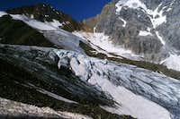 Suldenferner, below Cima Solda