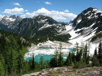 Lewis Lake and the Heather Pass Area