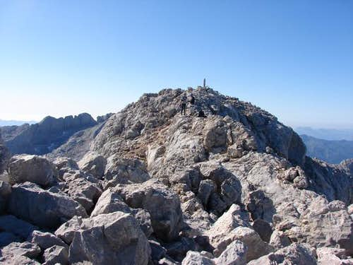 Summit of Torre Cerredo