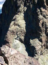 Dalles Blanches section (Pic du Midi d'Ossau)