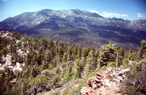 San Jacinto Peak seen from...