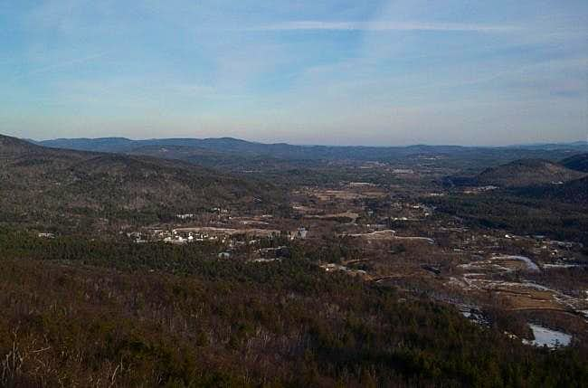From the top of Rattlesnake...