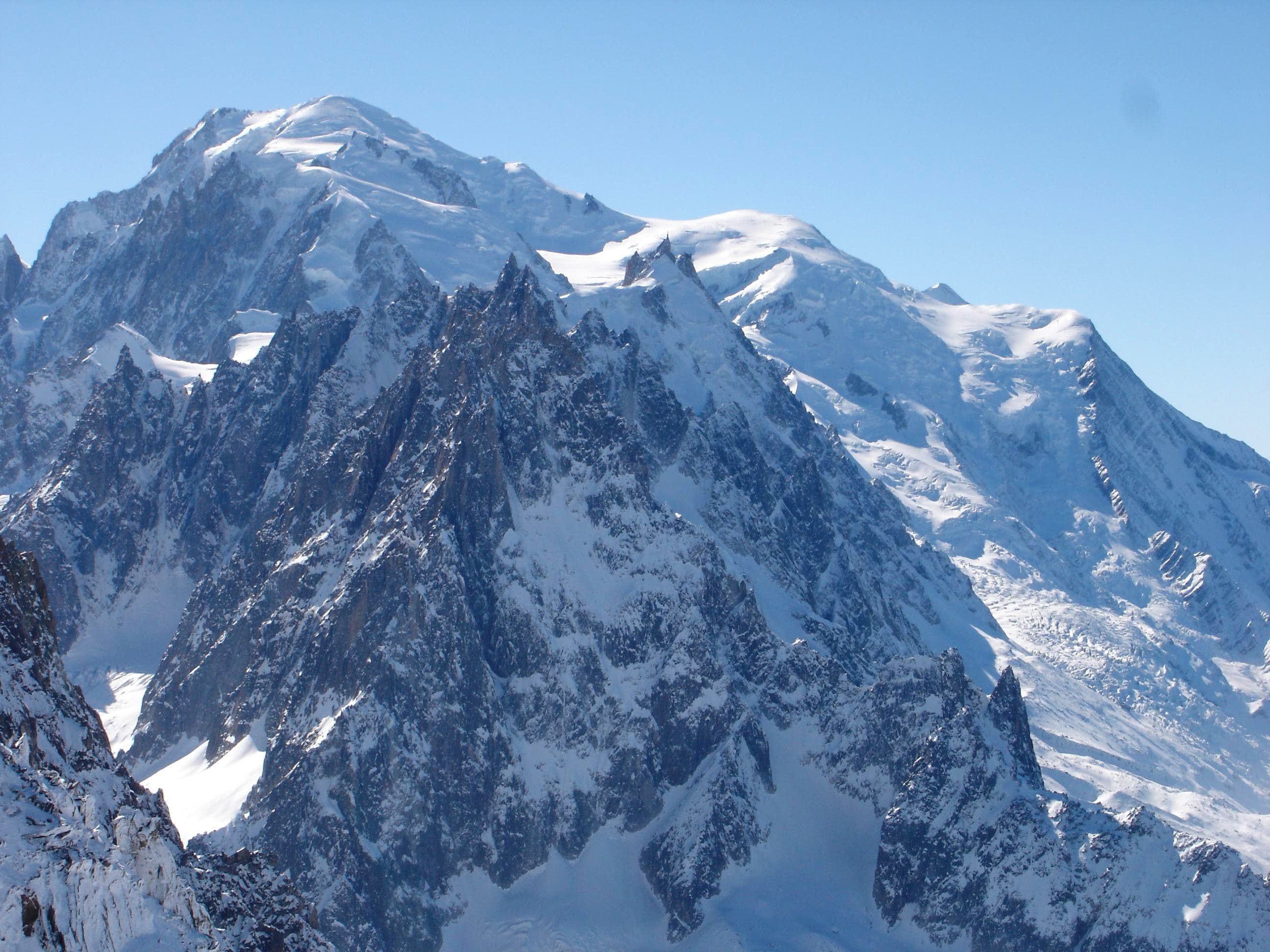 Mont Dolent - North face
