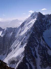 Aiguille d'Argentiere - North Face