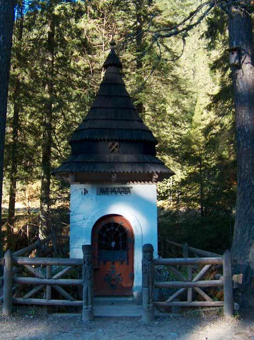 Chapel in Dolina Kościeliska