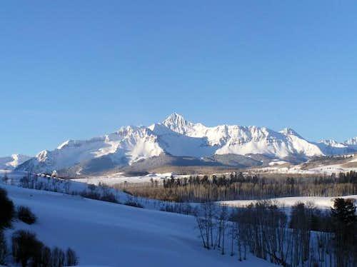 7 Mar 2004 - Wilson Peak in...