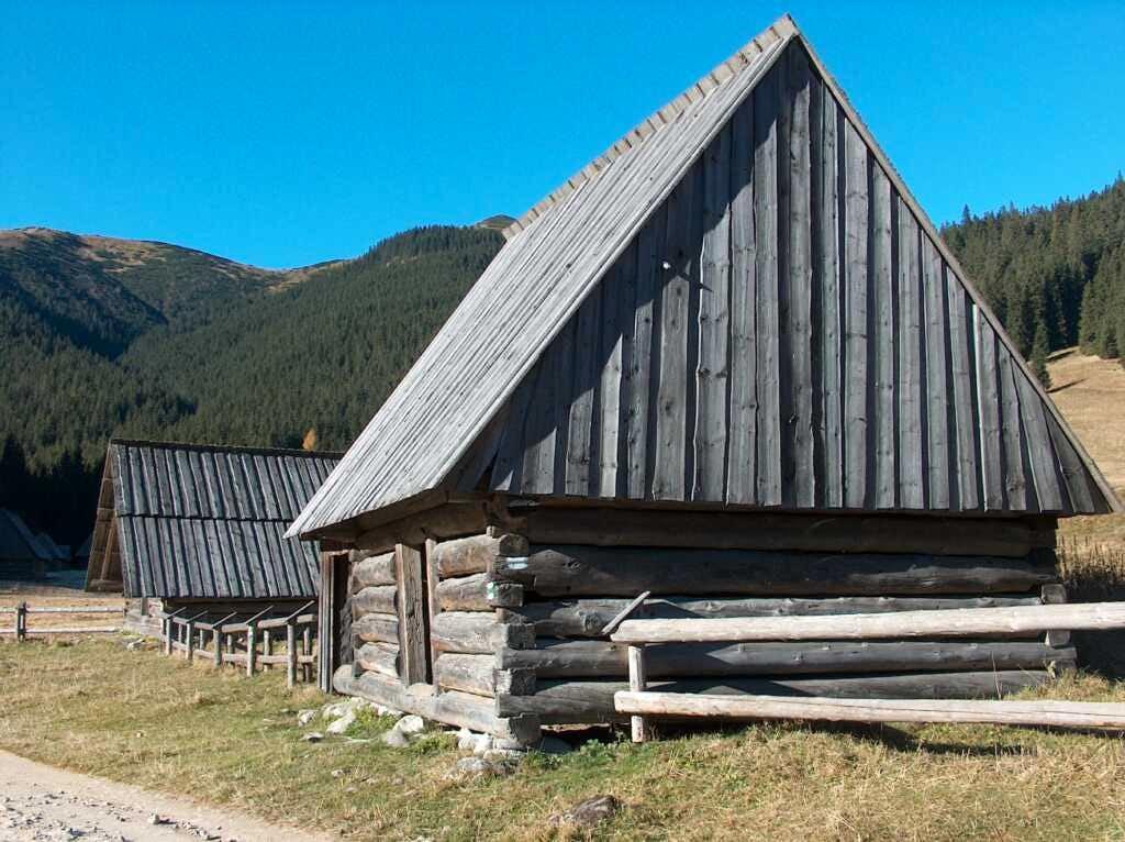The Dolina Chocholowska huts