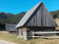 The Dolina Chocholowska huts