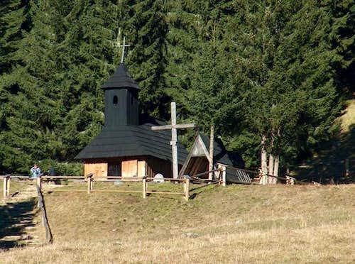 The Dolina Chocholowska church