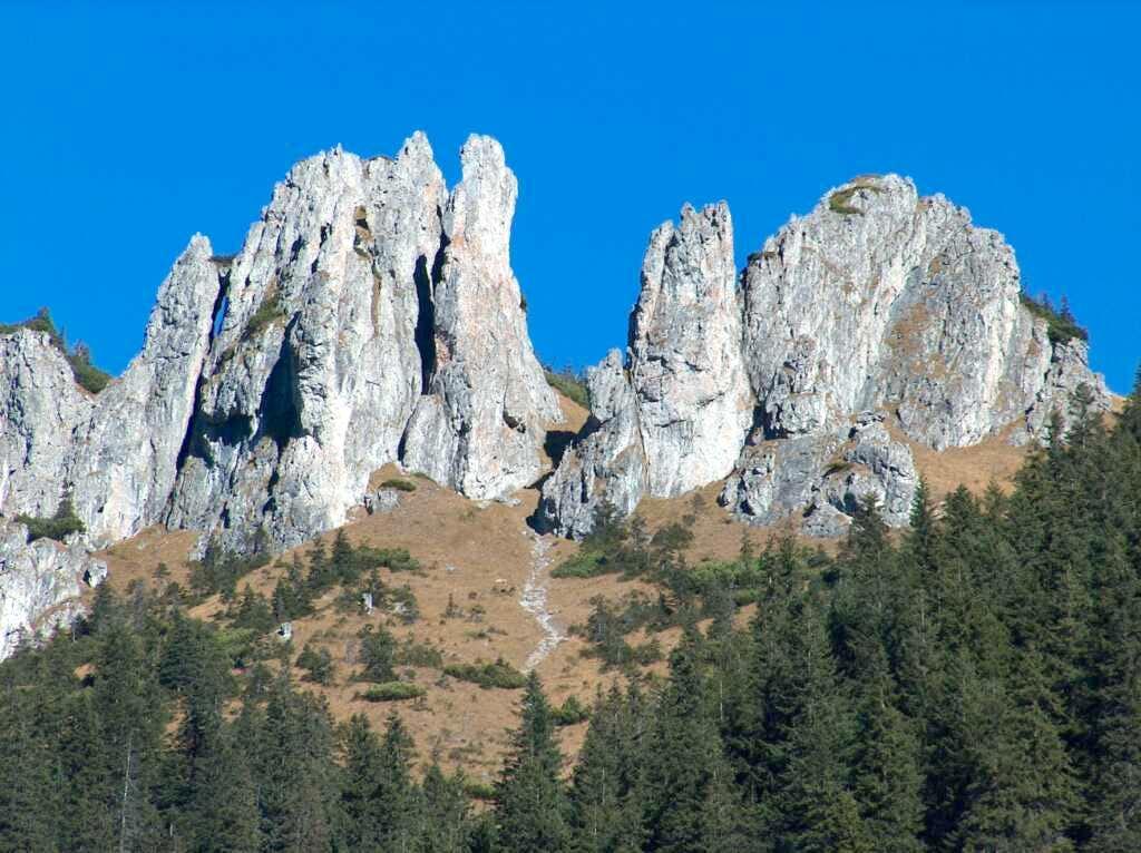 The Dolina Chocholowska pinnacles
