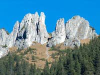 The Dolina Chocholowska pinnacles