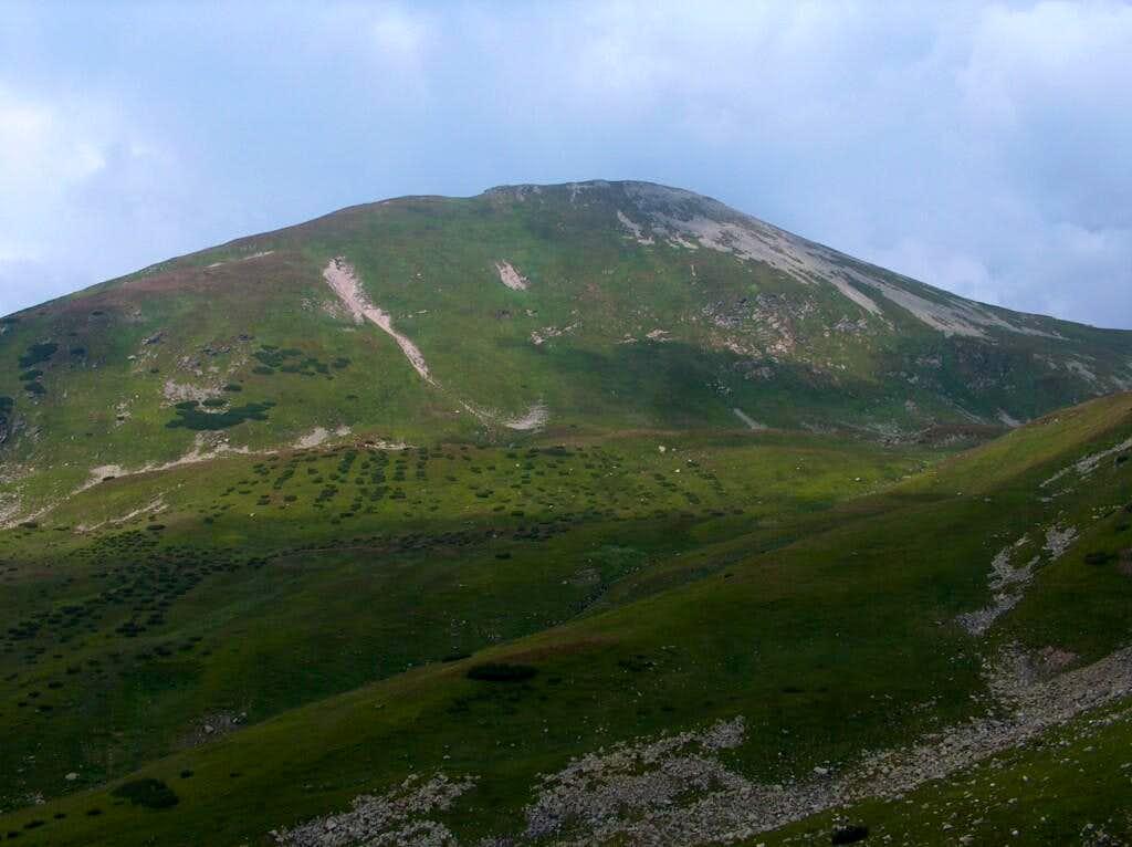 Starorobociański Wierch from Račková dolina