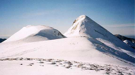Puy Griou in January, Cantal