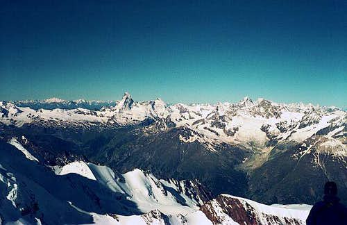 View to the Matterhorn-Group...