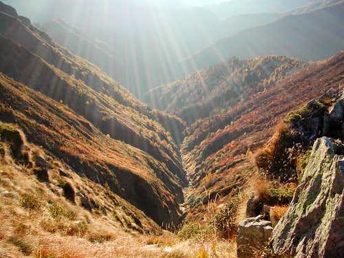 Locc Valley in autumn