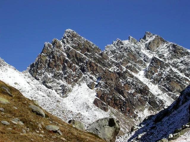 Mont Monchette West Crest by Leseney Hill