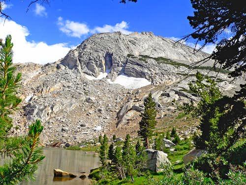 Echo Ridge from Budd Lake