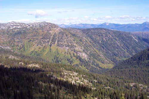 East from Squaw Ridge