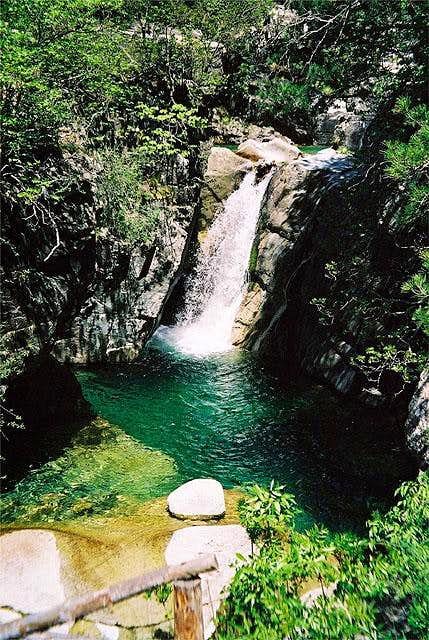 One of the finer cascades in...