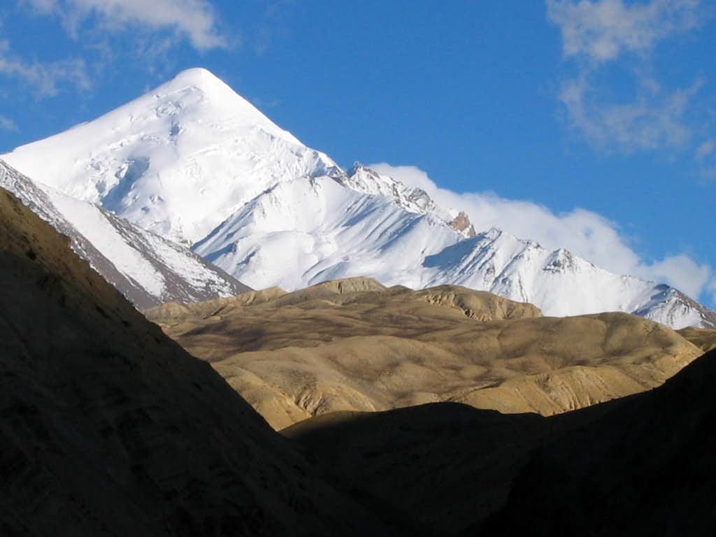 Chalung Ri (6767m) - unclimbed