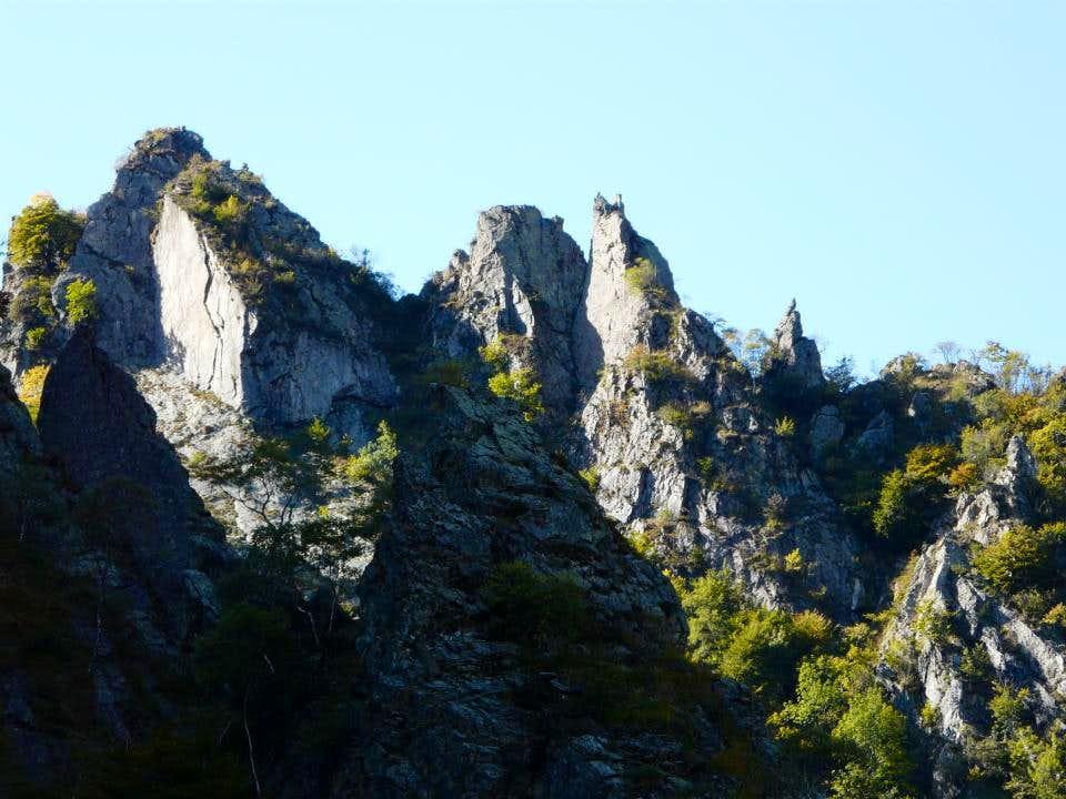 Wild mountains...