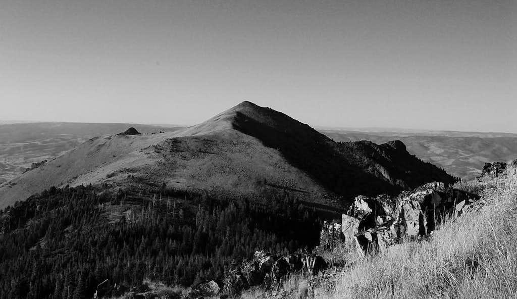 Pt. 7264 from around 7100 feet on Fields Peak