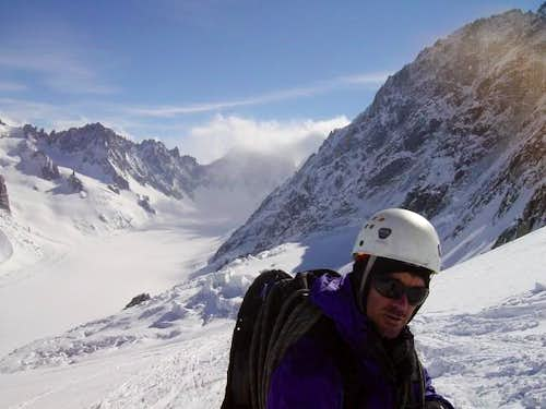 Chevalier couloir just to the...