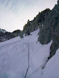 Tracy (aka Clarity). Climbing...