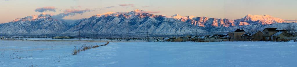 Major Wasatch Peaks ...