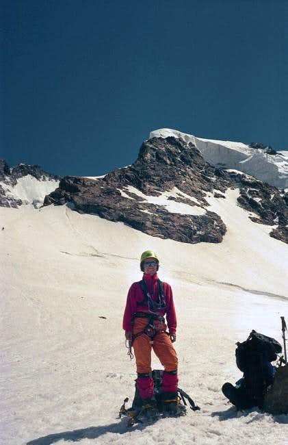 NW-ascent (\'ice nose\') to Piz...
