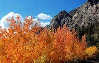Climbing into Boulder Basin