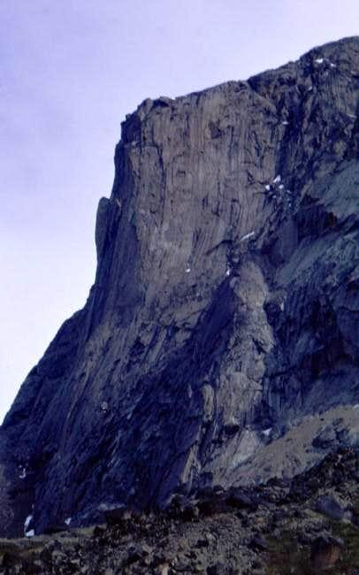 Mt. Tirokwa's headwall.