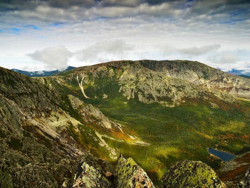 Hamlin Peak from Knife Edge