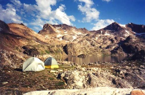Upper Aero Lake Campsite