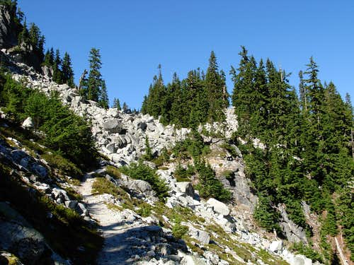 Surprise Creek-Pieper Pass-Spark Plug Summit