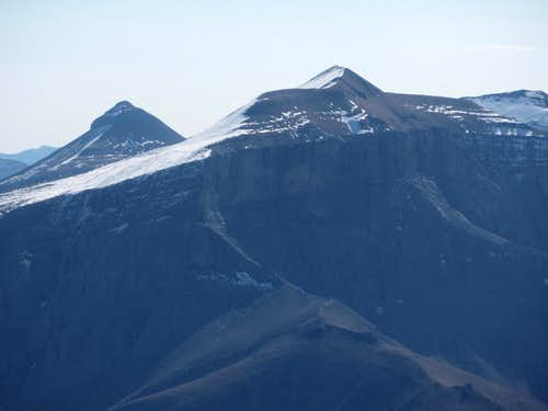 Banded Peak and Mount Cornwall