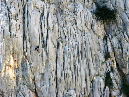 Climber on Kukovi ispod Vlake