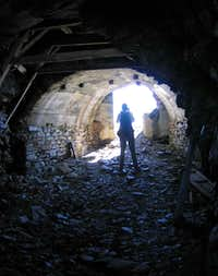 In the WW I mine