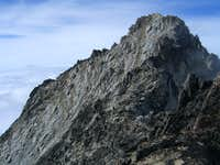 Route to summit from false summit