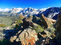 June Lakes peaks from